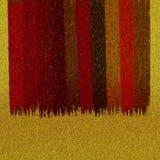 Les échantillons brillants de couleur conçoivent Scintillement métallique dispersé sur le fond vibrant Conception texturisée de t photo libre de droits