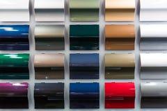 Chantillons de peinture de voiture photos stock image 30447913 - Echantillon de couleurs de peinture ...