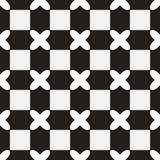 Les échecs aiment le modèle sans couture Photo stock