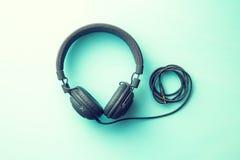 Les écouteurs de vintage Photo stock