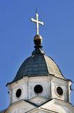 Les églises orthodoxes avec des croix dans Smederevo Image stock