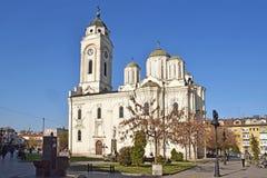 Les églises orthodoxes dans Smederevo Images libres de droits