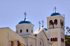 Les églises orthodoxes orthodoxes de beffroi Photographie stock