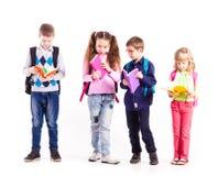 Les élèves sont prêts pour l'école Photographie stock