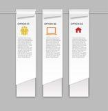 Les éléments de conception d'INFOGRAPHICS dirigent l'illustration Photo libre de droits
