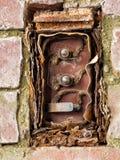 Les électricités antiques, échos du passé couvrent manquer entièrement photographie stock libre de droits