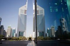 EmiratesTowers, DIFC, Dubaï, EAU Photographie stock