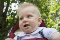 Les émotions d'un enfant Photos stock