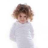 Les émotions des enfants d'isolement Photographie stock libre de droits