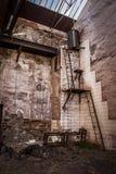 Les équipements antiques ont abandonné des mines d'Alquife Image stock