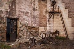 Les équipements antiques ont abandonné des mines d'Alquife Photos libres de droits