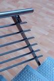 Les étapes en métal images stock