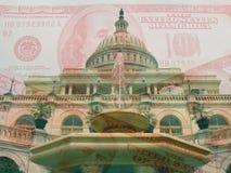 Les États-Unis Budget Images stock