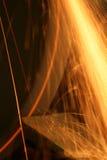 Les étincelles volent Photographie stock libre de droits