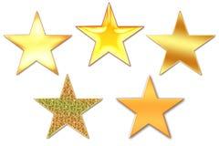 Les étoiles Photo libre de droits