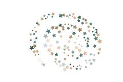 Les étoiles argentées dirigent le calibre illustration de vecteur