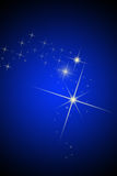 Les étoiles de brihgt Photos libres de droits
