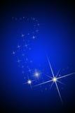 Les étoiles de ciel et de brihgt de nuit Photographie stock libre de droits