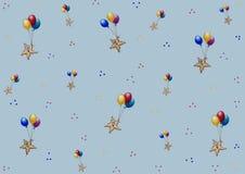Les étoiles de mer de ` font la fête le ` - modèle ou fond - thème : sealife Photographie stock libre de droits