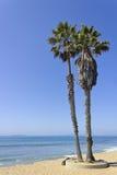 Les Îles Anglo-Normandes et le Ventura Beach, CA Image stock