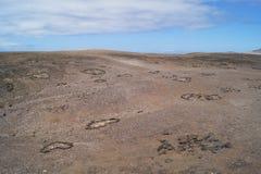 Les Îles Canaries de Jandia Fuerteventura Espagne Photos stock