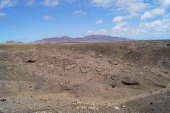 Les Îles Canaries de Jandia Fuerteventura Espagne Photos libres de droits