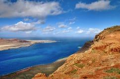 Les Îles Canaries de Rio de del de Mirador photos stock