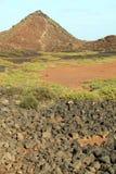 Les Îles Canaries Espagne de Fuerteventura d'île de Lobos photographie stock