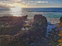 Les Îles Canaries, paysages naturels, plage photo stock
