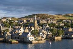 Les Îles d'Orkney de Stromness Photos libres de droits