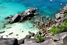 Les îles de Similan thailand Images libres de droits
