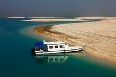 Les îles du monde dans le projet non fini de Dubaï Photos libres de droits