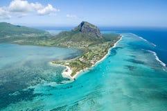 Les Îles Maurice aériennes photo stock