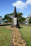 Les Îles Maurice, village pittoresque de Poudre d ou Photo stock