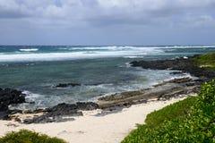 Les Îles Maurice, village pittoresque de Roches Noires Images stock