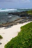 Les Îles Maurice, village pittoresque de Roches Noires Photo stock