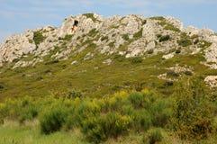 les Провансаль alpilles стоковое изображение