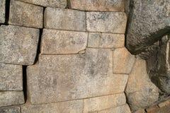 Les 12 ont pêché la pierre dans l'Inca antique, Pérou Photographie stock libre de droits