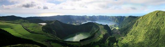 Les Açores Sete Cidades Photographie stock