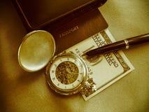 Les accessoires de l'homme d'affaires Photo stock