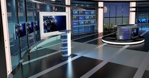 Les actualités virtuelles de TV ont placé 27 Photos libres de droits