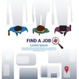 Les affaires Man Group trouvent la position de Job Curriculum Vitae Recruitment Candidate, profil de cv Image libre de droits