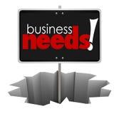 Les affaires ont besoin du client de produit de service de trou de connexion résolvent Probl Photos libres de droits