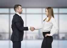 les affaires remettent à des associés la secousse Photo libre de droits