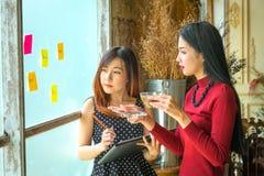 Les affaires Team Corporate Marketing Working Concept et drinki photographie stock libre de droits