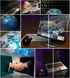 Les affaires usinent le mercatique Image libre de droits