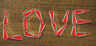 Les agrafes d'inscription Image libre de droits