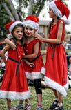 Les aides de Santa photos stock