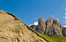 Les Alpes Photo stock