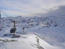 Les Alpes image libre de droits
